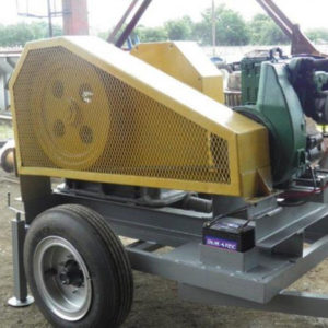 12×7 Jaw Crusher Mounted on Trailer