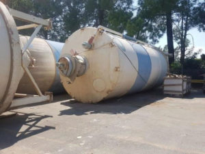 Various used Cement Silos