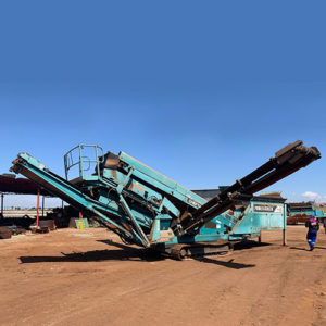 Powerscreen Chieftain 600 Mobile Double Deck Screen