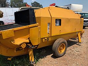 Putzmeister BSA1409 Concrete Pump